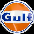 Gulf Logo Diecut Small