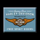 Harley-Davidson Logo Blue