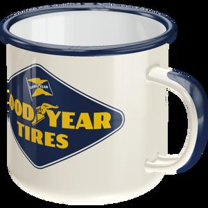 Bilde av Goodyear Logo White