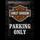 Harley-Davidson Parking Only
