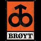 Brøyt Logo Vintage A3